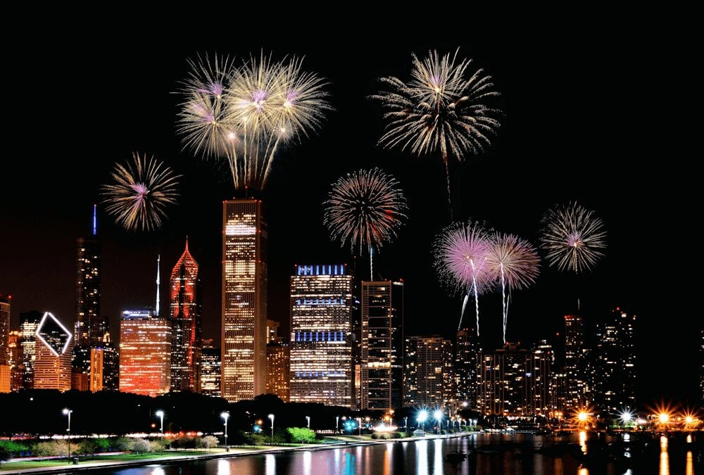 Chicago Architecture Tour and Fireworks